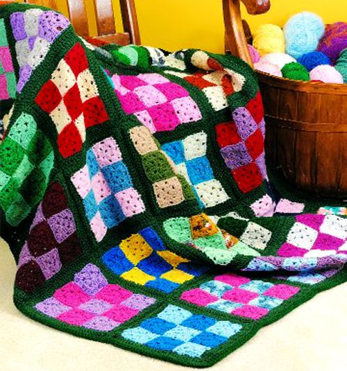 27 Best Crochet Afghan Looks Like A Quilt Images On