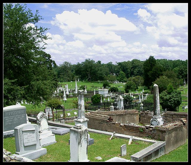 Natchez-City-Cemetery--I love touring Cemeteries!: