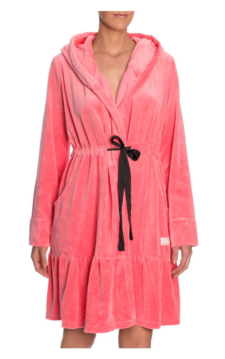 Morgonrock Myself Bathrobe NEON LIGHT CANDY - Odd Molly - Designers - Raglady