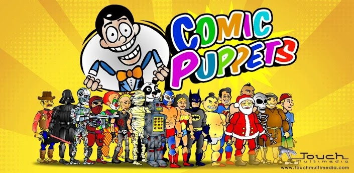 ComicPuppets provides all the tools to better express your creativity.   Ever wanted to make comic strips but you're not a cartoonist?  ComicPuppets for iPhone, iPad and Android provides all the tools to better express your creativity.