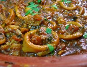 10 Classic Moroccan Tagine Recipes That You Have to Try: Tagine of Calamari in Tomato Sauce