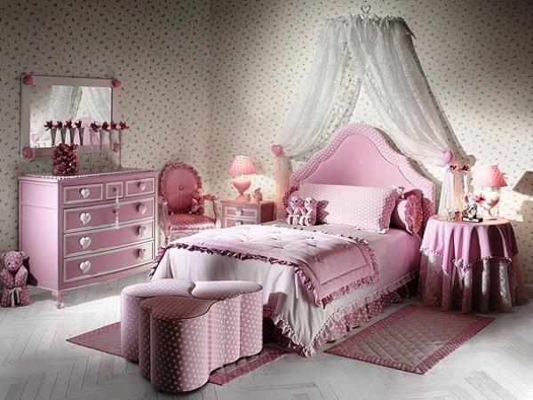 Комната принцессы для девочки