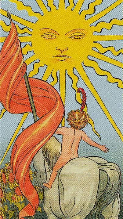 XIX.The Sun: Tarot of the New Vision