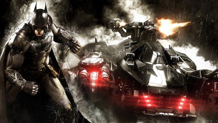 Batmobile In Arkham Knight Wallpapers Hd Wallpapers ZiCars