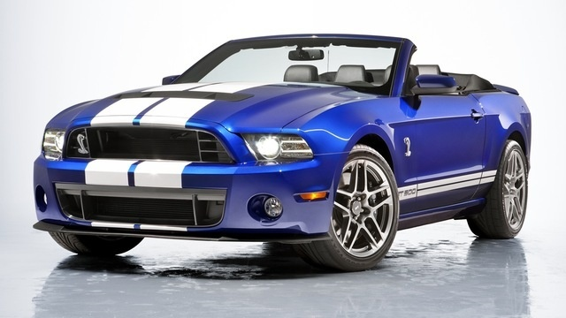 The 2013 Shelby GT500 Convertible