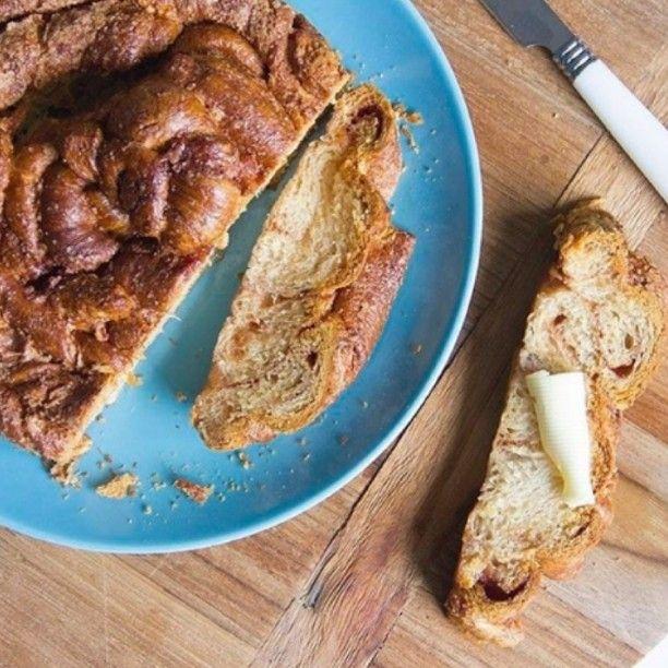 WEBSTA @ theamazingkitchen - Yummmm... Croissantbrood met kaneel. Gemakkelijk te maken in de airfryer met kant-en-klaar croissantdeeg!Recept op de blog: www.theamazingkitchen.nl of klik op de link in ons profiel#airfryer #airfryerrecipe #sweetbread #cinnamonbread #kaneelbrood #croissant #food #instafood #foodphoto