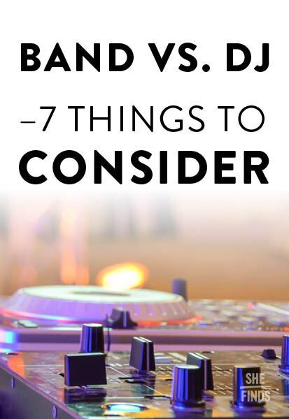 Wedding band vs. DJ: what you need to consider