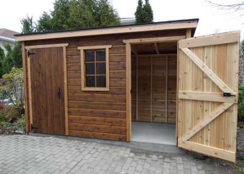 Sarawak shed 5x12 with standard fixed window. In Toronto Ontario. ID number 195929-3.