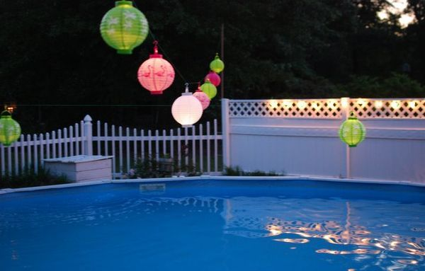 Pool party decoration ideas for adults few tasty and for Pool dekoration