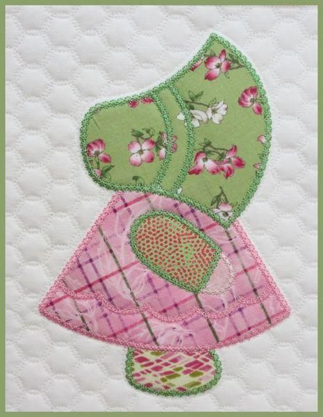 Sunbonnet Sue Quilt In The Hoop Embroide Beautiful Sun