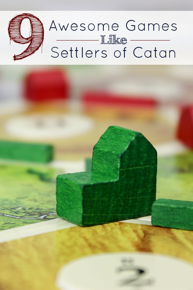 This is exactly what I was looking for! My game group LOVES Settlers of Catan but needed a new challenge, these 9 games like Settlers of Catan is just what the game doctor ordered.