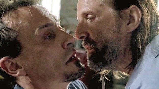 T-Bag and John Abruzzi, Prison Break
