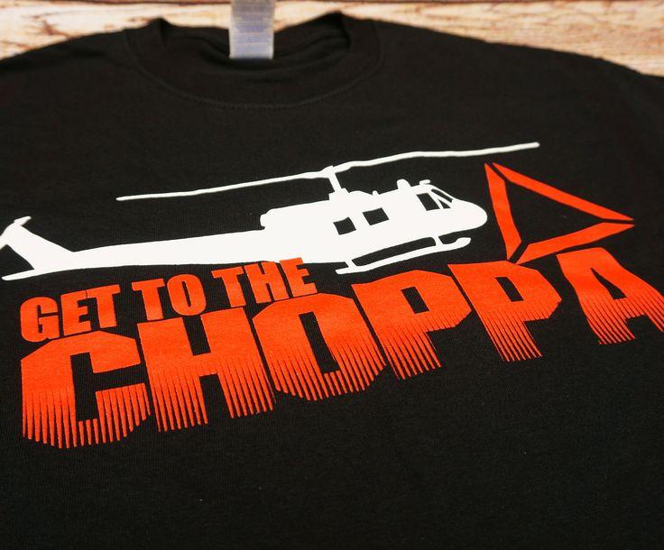 Predator - Arnold Schwarzenegger Get to the Choppa T-shirt