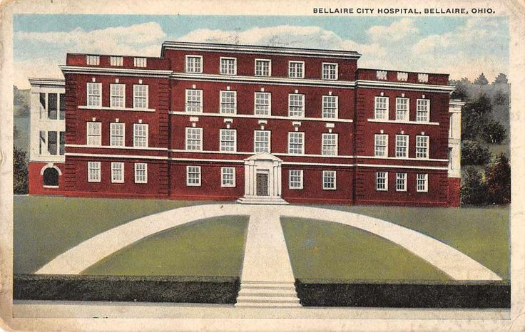 Bellaire Ohio City Hospital Antique Postcard J48487 | Collectibles, Postcards, US States, Cities & Towns | eBay!