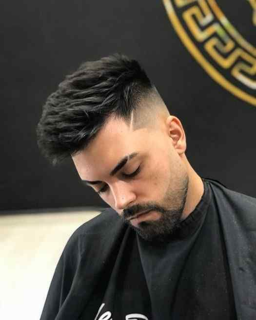 Simple Short Hairstyles With Beards For Handsome Boy S Hairstyles 2020 In 2020 Short Hair With Beard Boy Hairstyles Men Haircut Styles