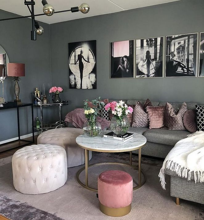 33 The Truth About Modern Chic Living Room Apartments Interior
