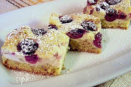 Kirsch - Topfenkuchen (Rezept mit Bild) von mima53 | Chefkoch.de
