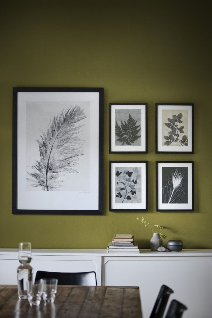 Pernille Folcarelli Unika Hand Prints of leaves, feathers and herbs