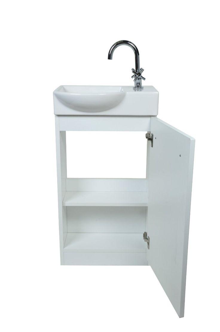 30 best cloakroom basin unit images on pinterest basin. Black Bedroom Furniture Sets. Home Design Ideas