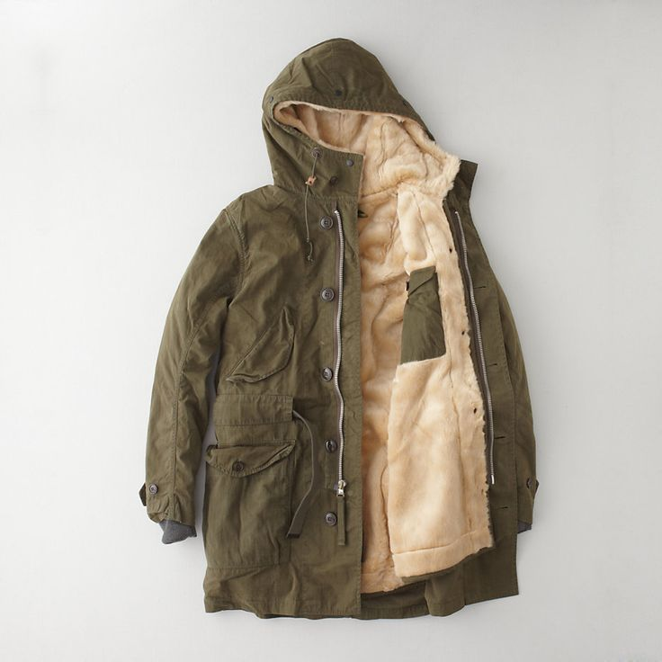 natashakills: Lined Trench Parka by RELWEN (via YouCan'tBuyLand)