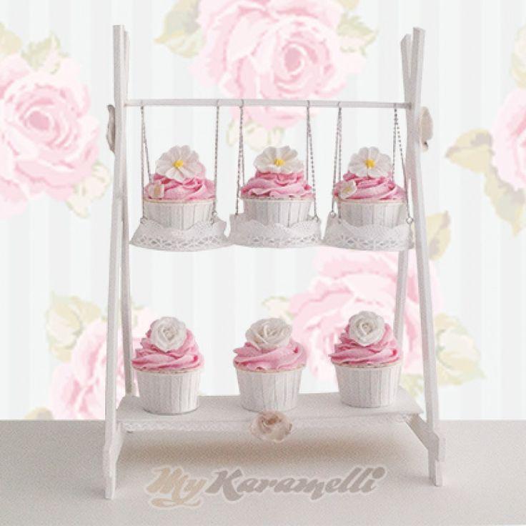 Stand para cupcakes Columpio