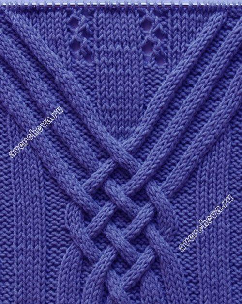 женский пуловер спицами с оригинально использованым аранским узором. Обсуждение на LiveInternet - Российский Сервис Онлайн-Дневников