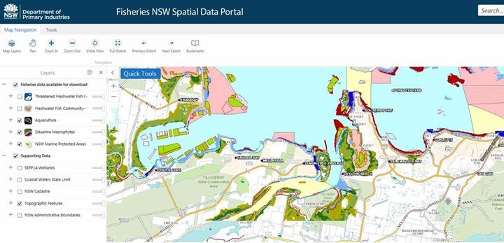 "Fisheries Spatial Data Portal provides new information.   Here's some info by NSW DPI on their handy new fisheries and environment portal:   The NSW Department of Primary Industries (DPI) has developed a new online mapping tool which identify fisheries assets and aquatic environmental features.   DPI Deputy Director General Fisheries, Dr Geoff Allan, said the information can be easily accessed through the Department's website.   ""This is great way of easily accessing important environmental…"