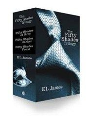 Fifty Shades Trilogy Box Set  -  When literature student Anastasia Steele interviews successful entrepreneur Christian Grey, she finds him very attractive and deeply intimidating. Unworldly and innocent, Ana is shocked to find she wants this man, and excited when she realises that Christian wants her too.