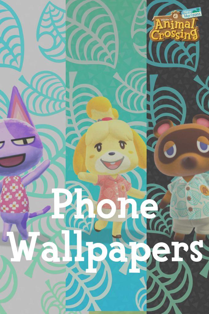 Animal Crossing New Horizons Phone Wallpapers in 2020