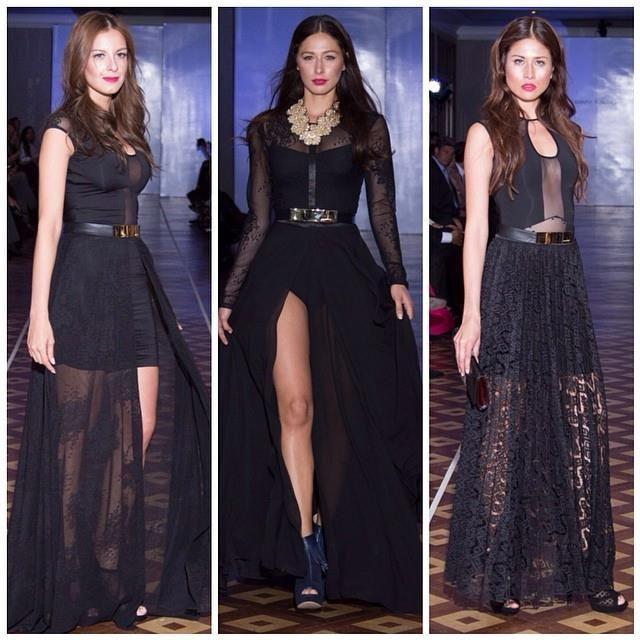 ProductionRunway.  Trends Fashion. Long dresses Colombia. Johanna Rubiano