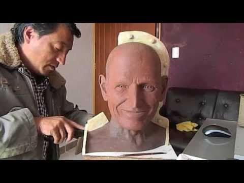 Modelado en plastilina - preparando el modelo para moldear 1/2 - YouTube