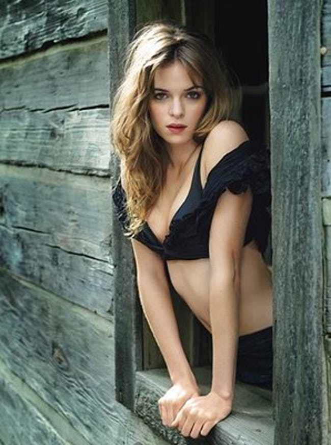Danielle Panabaker in Black Un... is listed (or ranked) 2 on the list Hottest Danielle Panabaker Photos