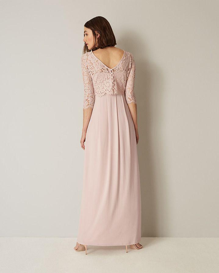 Phase Eight Portia Lace Maxi Bridesmaid Dress