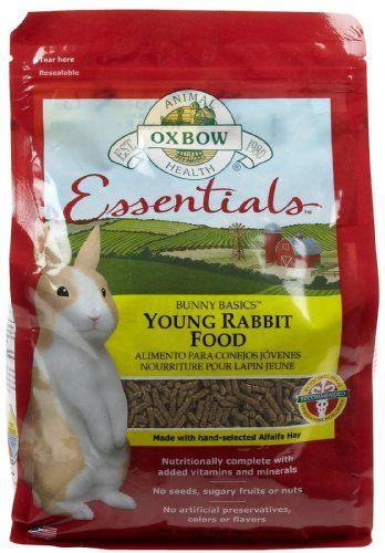 Oxbow Bunny Basics - Young Rabbit Food - Alfalfa Hay - 5 lbs - http://www.bunnybits.org/oxbow-bunny-basics-young-rabbit-food-alfalfa-hay-5-lbs/