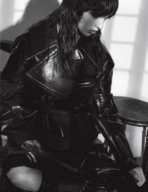 "10 Magazine: Issue#48; Autumn 2013  ""Before the Revolution""  photo: Gregory Harris  fashion editor: Tony Irvine  hair: Anthony Turner  make-up: Lisa Houghton  model: Juliana Schurig"
