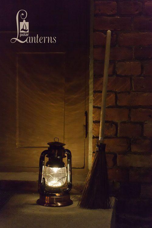 271005 Myrskylyhty led, kupari, 30cm / Hurricane lantern