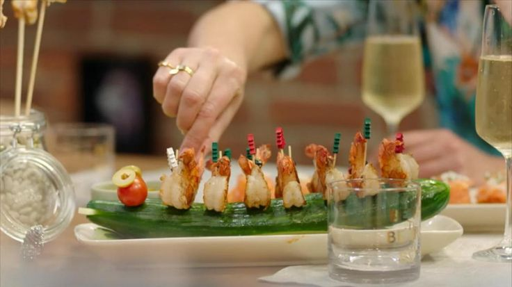 Video: Video: Hapjes en champagne met Christoff