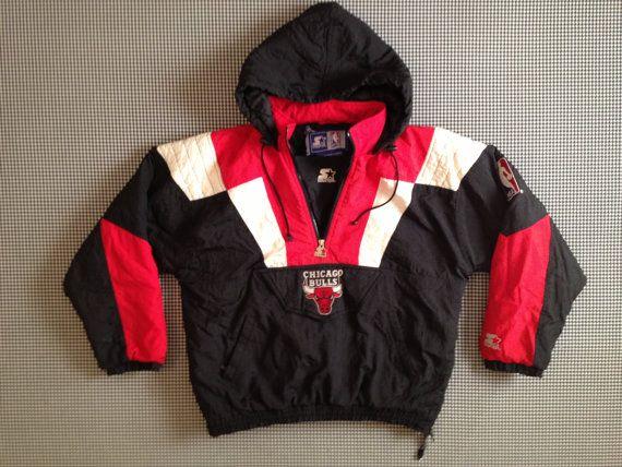Vintage 90's Chicago Bulls Starter Jacket/80/ Stadium Baseball jacket small EWocBVtRNi