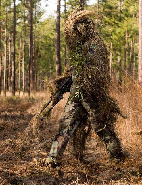 Scarecrow Ghillie Suit.