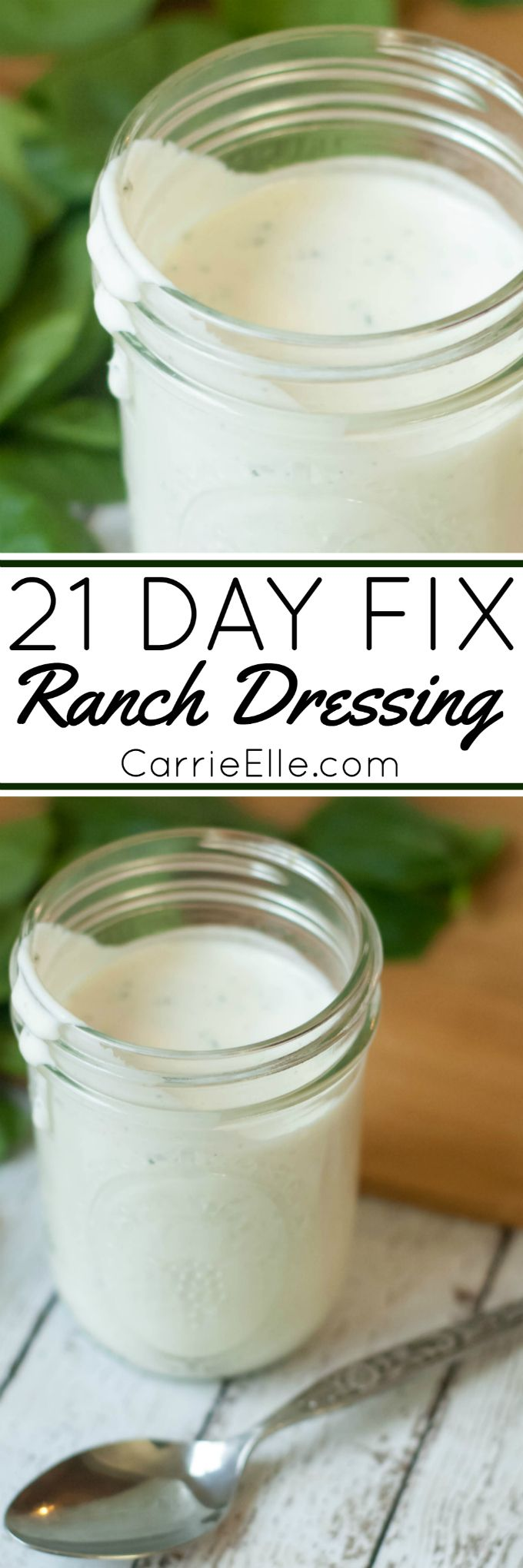 21 Day Fix Ranch Dressing (it's so good!)