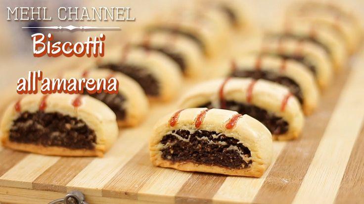 Biscotti all'amarena: La video ricetta di Mehl Channel