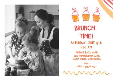 Best Brunch  Lunch Invitations Images On