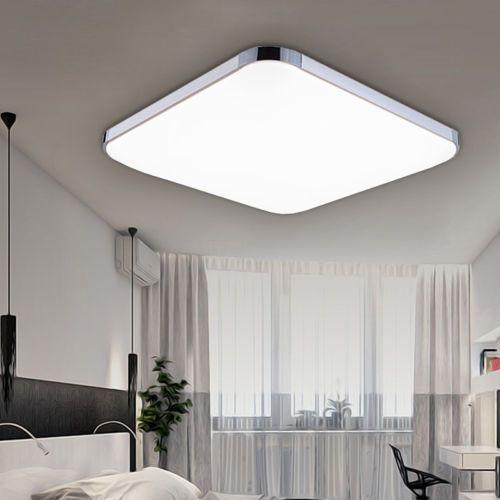 36W LED Deckenleuchte Wohnzimmer Deckenlampe Flur Badlampe Panel Farbwechsel