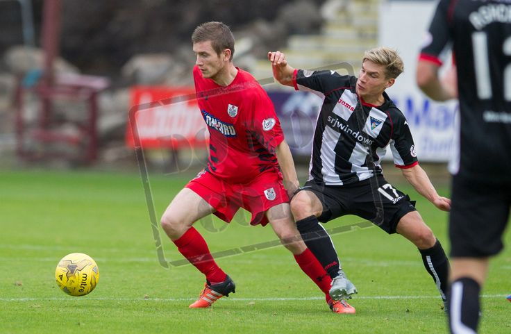 Queen's Park's Gregor Fotheringham in action during the IRN-BRU Cup game between Dunfermline Athletic and Queen's Park.