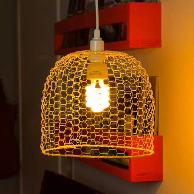 Populares 8 best Luminárias - DIY / Faça você mesmo images on Pinterest  CB15