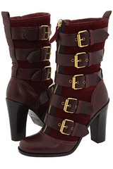 Leather Boots (high heeled)