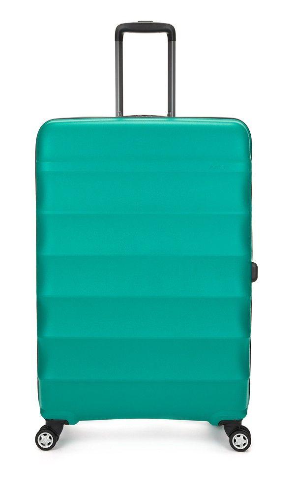 Juno Large 4 Wheel Suitcase Teal | Hard Suitcase | Antler UK