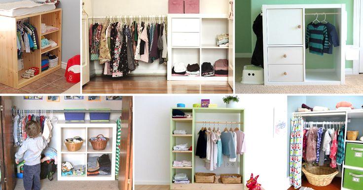 """Über 1.000 Ideen zu """"Kinder Kleiderschrank auf Pinterest""""  Mädchen-schlafzimmerdesigns ..."""