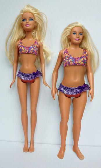 One Artist Asks: What If Barbie Looked Like a Real, Normal 19-Year-Old Woman?