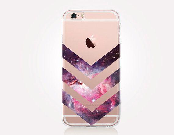Transparente Rosa Universum Telefon transparentes von CRCases